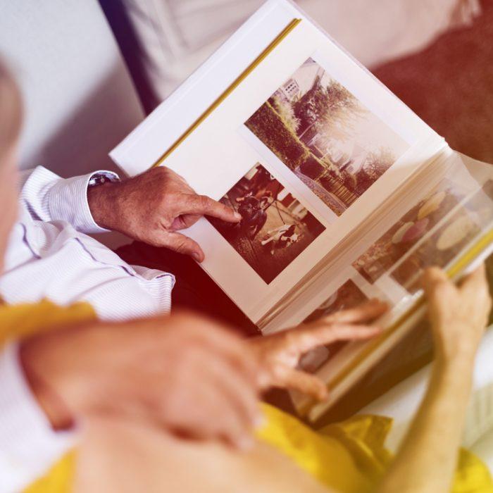 Photo,Gradient,Style,With,Senior,Couple,Look,Photo,Album